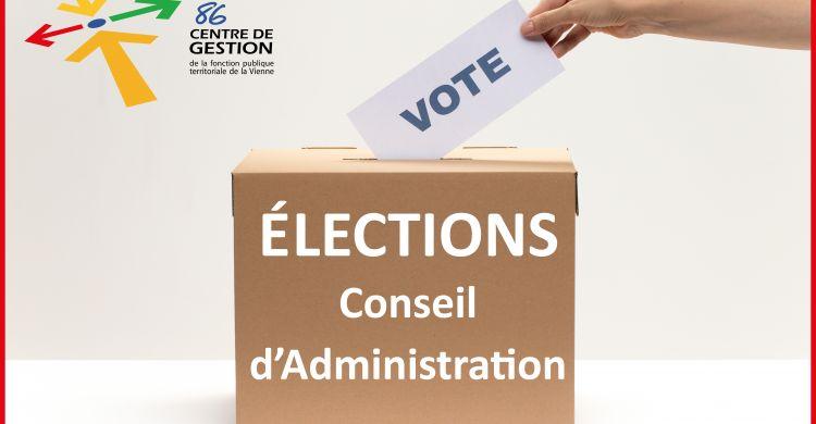 Résultats des élections au Conseil d'Administration du CDG86