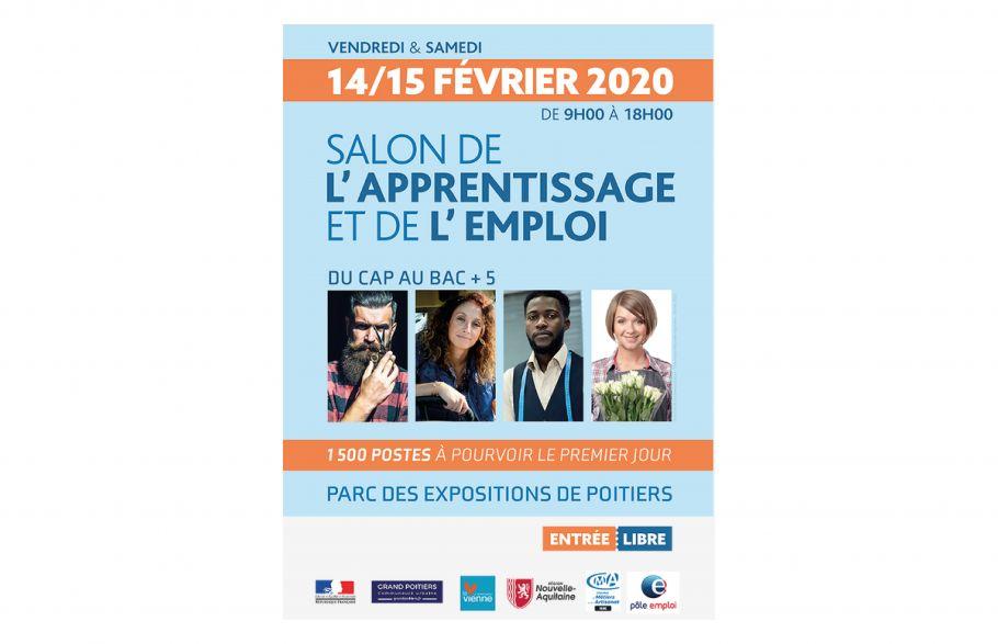 Le CDG 86 au Salon de l'Apprentissage et de l'Emploi les 14 et 15 février 2020 à Poitiers